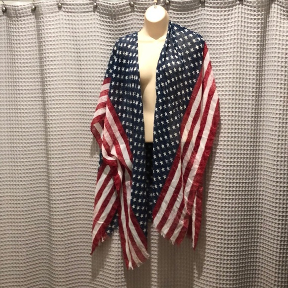 Mossimo Supply Co. Sweaters - American flag cardigan